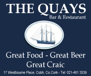 The Quays Bar & Restaurant, Cobh, Co.Cork